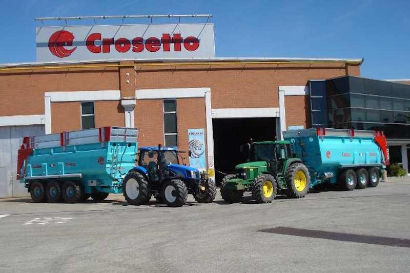 Agrimec crosetto unacma for Crosetto rimorchi agricoli