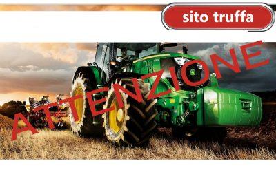 Oltre ai furti anche le truffe nel mondo delle macchine agricole