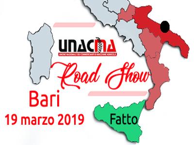 UNACMA in Puglia: la prossima tappa del ROAD SHOW