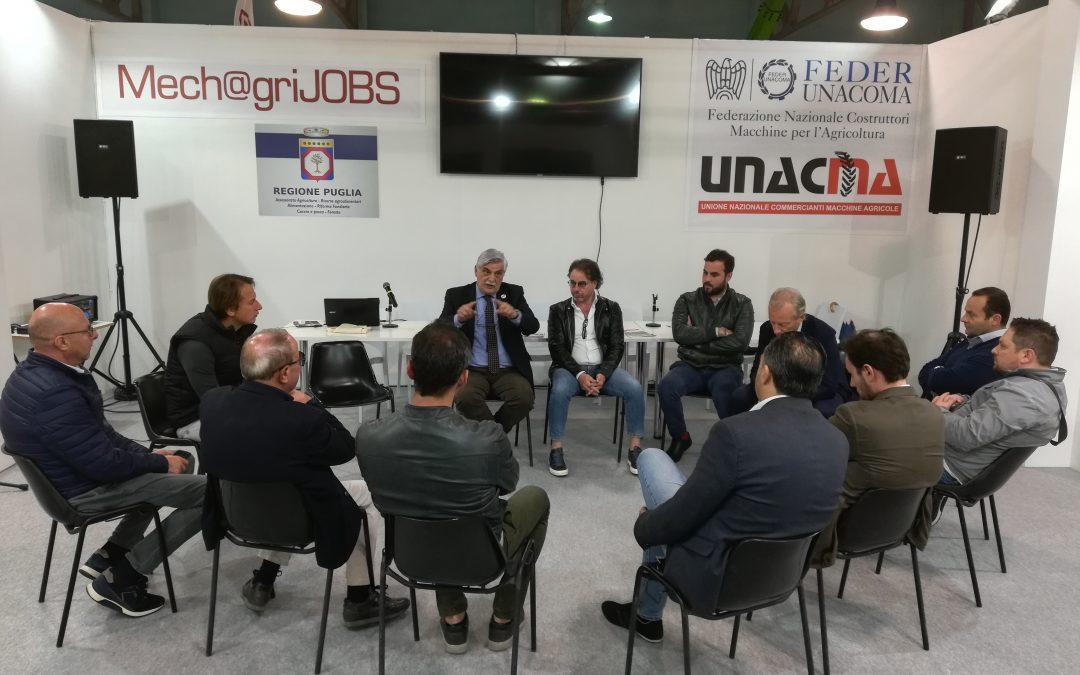 Fiera di Foggia 2019: alla fine una bella Fiera! Decisivo il contributo di UNACMA e FEDERUNACOMA nell'organizzazione del settore della meccanizzazione agricola.