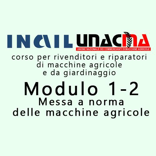 Corso Inail-Unacma sulla messa a norma: Bologna, 29-30 ottobre 2019