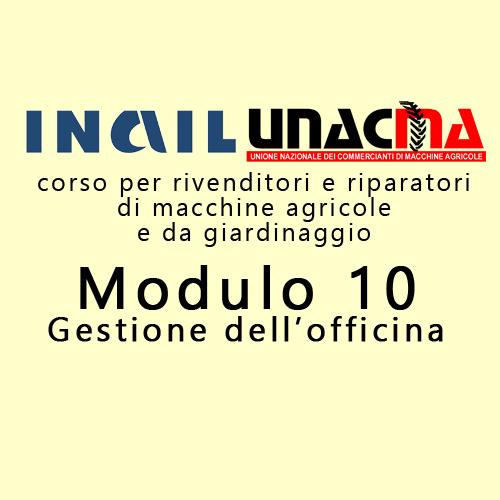 Corso Inail-Unacma sulla gestione delle officine: Bologna, 6 novembre